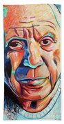 Pablo Picasso Beach Towel