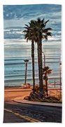 Pacific And 1st Street Beach Towel