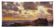Pacific Clouds Beach Towel