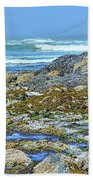 Pacific Coast Tide Pools Beach Towel