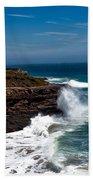 Pacific Coastline Beach Towel