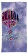 Pacific Science Center Lamp 2 Beach Towel