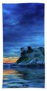 Pacific Sunset Beach Towel