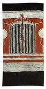 Packard 1937 Red Beach Towel