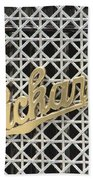 Packard Grill Beach Towel