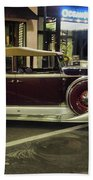 Packard Twelve Sedan Convertible Beach Towel