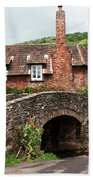 Packhorse Bridge At Allerford Beach Towel