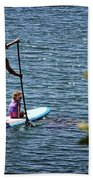 Paddle Board Beach Towel
