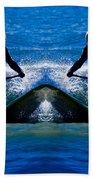 Paddleboarding X 2 Beach Towel