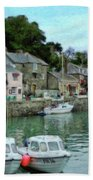 Padstow Harbour - P4a16021 Beach Towel