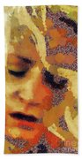 Pain By Mary Bassett Beach Towel