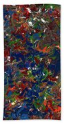Paint Number 1 Beach Towel by James W Johnson