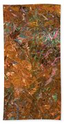 Paint Number 19 Beach Towel by James W Johnson