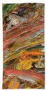Paint Number 41 Beach Towel by James W Johnson