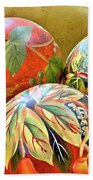 Painted Balls Beach Towel