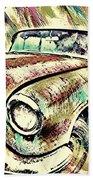 Painted Car Beach Towel