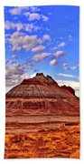 Painted Desert Colorful Mounds 003 Beach Towel