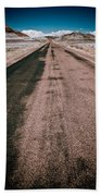 Painted Desert Road #4 Beach Towel