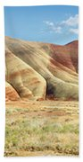 Painted Hills Pano 1 Beach Towel