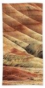 Painted Hills Textures Beach Sheet