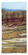 Painted Hills View From Overlook Beach Towel