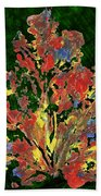 Painted Nature 1 Beach Towel by Sami Tiainen