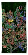 Painted Nature 2 Beach Towel by Sami Tiainen