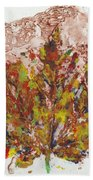 Painted Nature 3 Beach Towel by Sami Tiainen