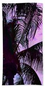 Painted Palms 4 Beach Towel