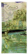 Painted Reflections Beach Towel