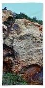 Painted Rocks Beach Towel