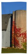 Painted Silo Beach Towel