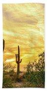 Painted Sky Beach Towel