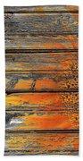 Painted Sunflower Beach Towel