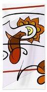 Painting 270 Beach Towel
