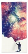 Painting The Universe Awsome Space Art Design Beach Towel