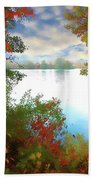 Paints Of Fall Beach Towel