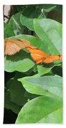 Pair Of Butterflies Beach Towel
