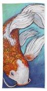 Paisley Koi Beach Towel