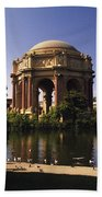 Palace Of Fine Arts Sf Beach Towel