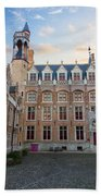 Palace Of Gruuthuse In Brugge Beach Towel