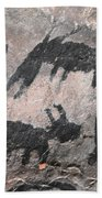 Palatki Pictoglyph Beach Towel