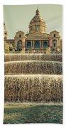 Palau Nacional Barcelona Beach Towel