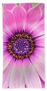 Pale Purple Flower Beach Towel