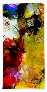 Palette Abstract Square Beach Towel