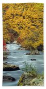 Palisades Creek Beach Towel