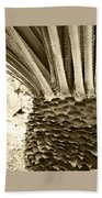 Palm Abstraction Beach Towel