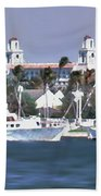Palm Beach Middel Bridge Beach Towel