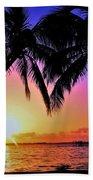 Palm Bliss Beach Towel