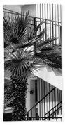 Palm Chevron Palm Springs Beach Towel